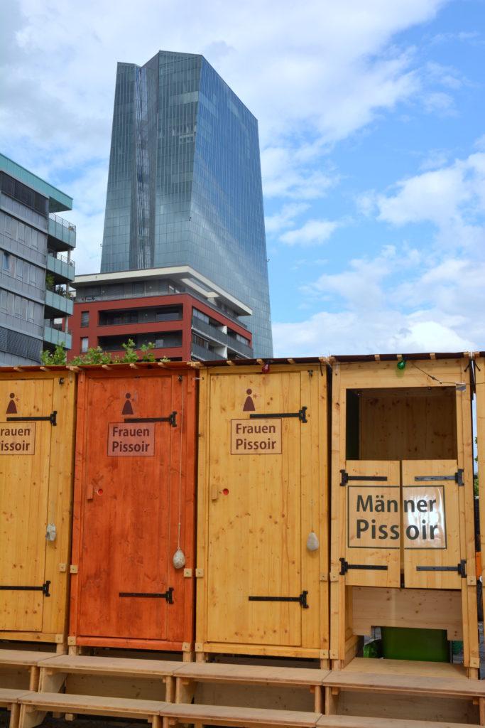 Sommerwerft, Frankfurt am Main. Foto: Severine Felt