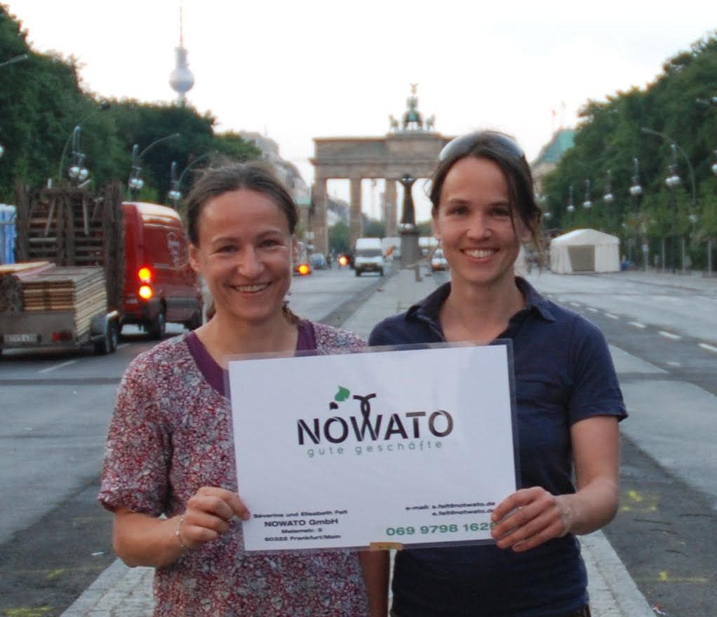 Severine und Elisabeth Felt von nowato.de