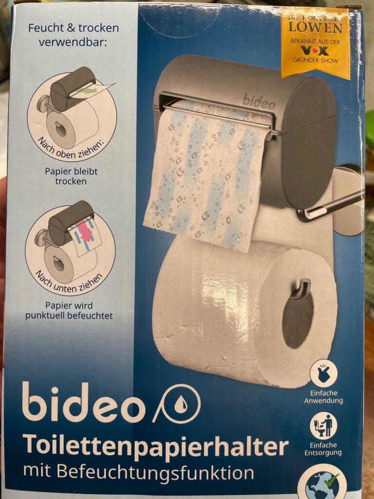 Bild der bideo Verpackung